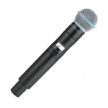 Shure Beta 58A Microphone with ULXD2 Transmitter