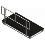 Litedeck 8ft Open Handrail