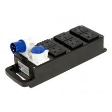Rubber Box 16/1 60 6 13 Amp Distro
