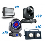 Large Festival Lighting Package - six day hire